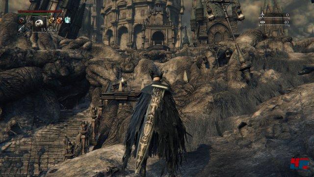 Zwar kommt man zunächst leicht an erste Beute...Screenshot - Bloodborne (PlayStation4) 92516810