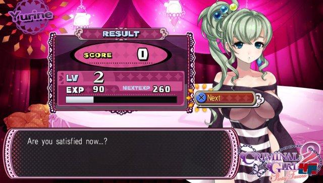 Screenshot - Criminal Girls 2: Party Favors (PS_Vita)