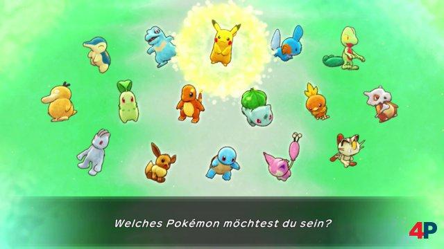 Die spielbaren Pokémon im Überblick.