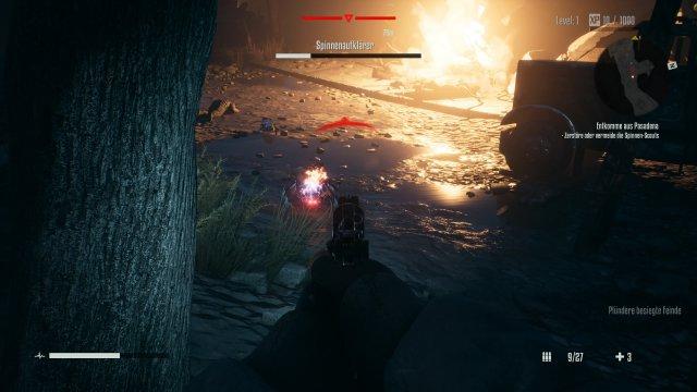Die starken Kontraste des Spiels passen gut zur HDR-Darstellung.