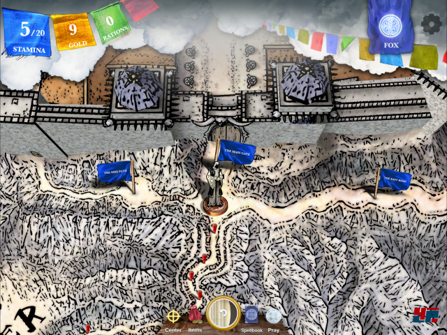Screenshot - Sorcery! 4- The Crown of Kings (iPad) 92535366