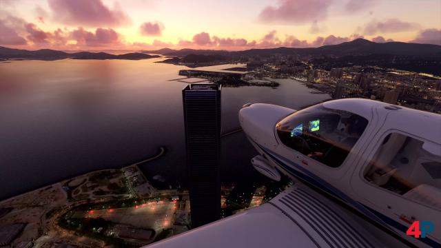 Über den Dächern von Hong Kong.