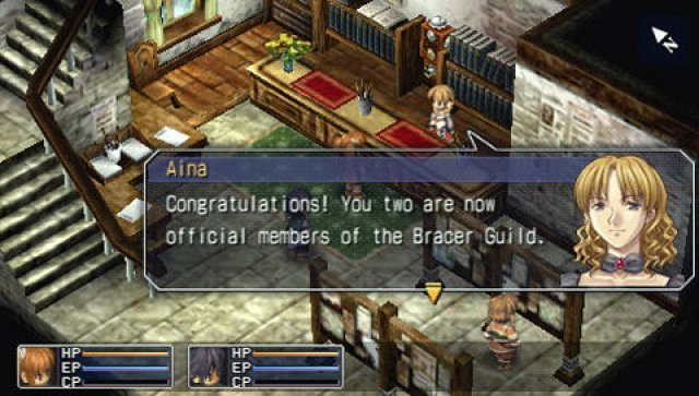 Screenshot - The Legend of Heroes: Trails in the Sky (PSP) 2290467