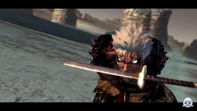 Auch ohne Arme ist Asura noch gefährlich - vor allem, wenn er richtig wütend wird.