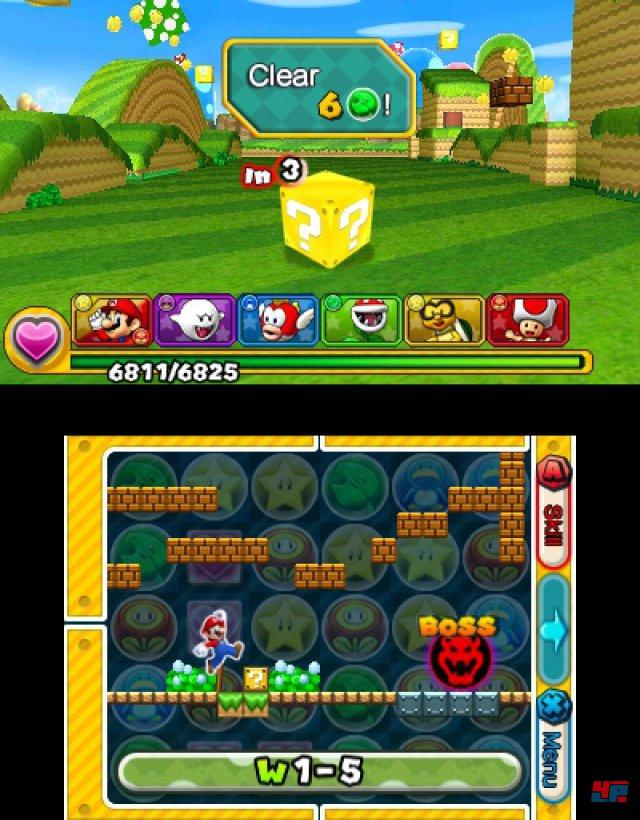 Screenshot - Puzzle & Dragons Z   Puzzle & Dragons Super Mario Bros. Edition (3DS) 92504365