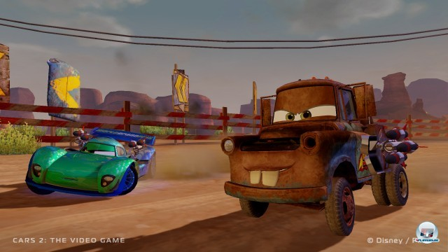 Screenshot - Cars 2: Das Videospiel (PC) 2224353