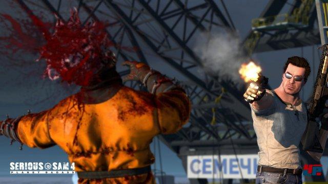 Screenshot - Serious Sam 4: Planet Badass (PC)
