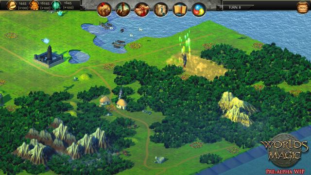 Screenshot - Worlds of Magic (iPad)