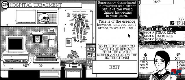 Screenshot - World of Horror (Linux) 92570638