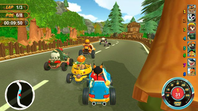 Screenshot - Renzo Racer (PC)