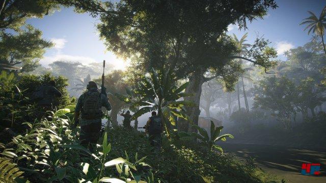 Auch dichtere Wälder gehören zu den im Spiel vertretenen Biomen.