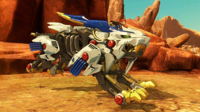 Screenshot - Zoids Wild: Blast Unleashed (Switch)
