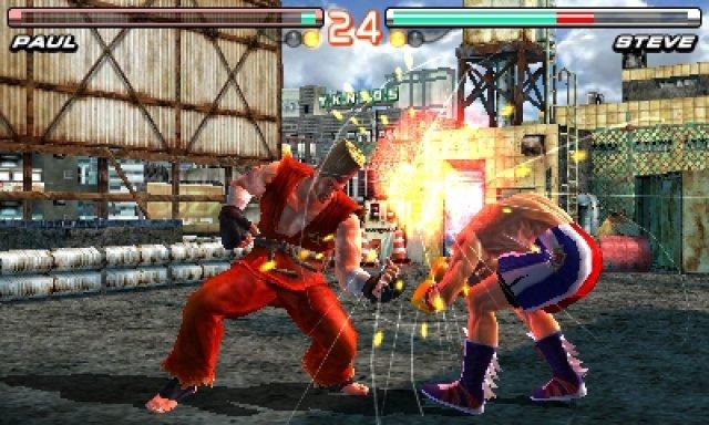 40 Kämpfer aus allen Tekken-Spielen stehen zur Auswahl.