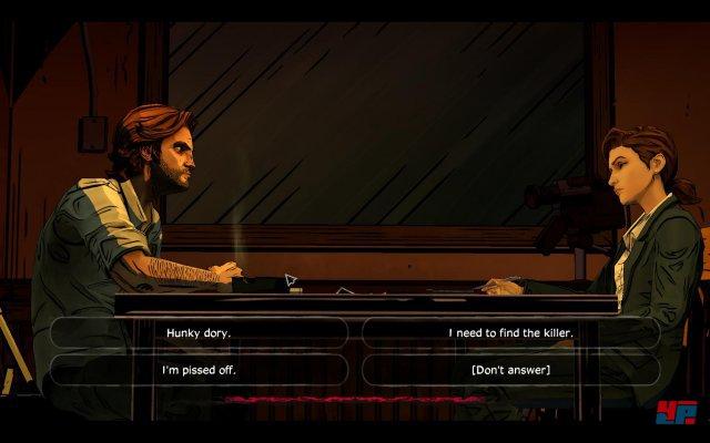 Screenshot -  The Wolf Among Us: Episode 2 - Smoke & Mirrors (PC)