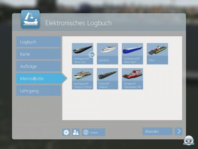 Screenshot - Schiff-Simulator 2012 - Binnenschifffahrt  (PC)