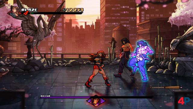 Boss-Duell Blaze vs. Shiva: Serienkenner können mit beiden Namen etwas anfangen.