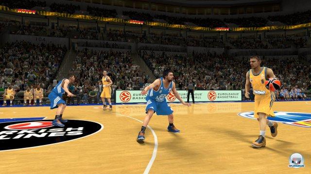 Der totale Analogstick: Sowohl Dribblings als auch Würfe liegen auf dem rechten Stick - daran muss man sich nach NBA 2K13 erstmal gewöhnen.