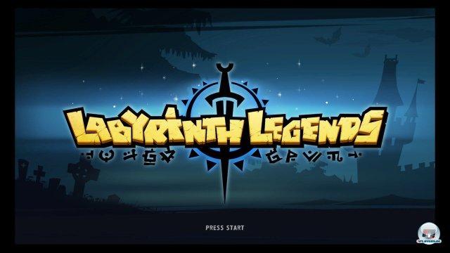 Screenshot - Labyrinth Legends (PlayStation3)