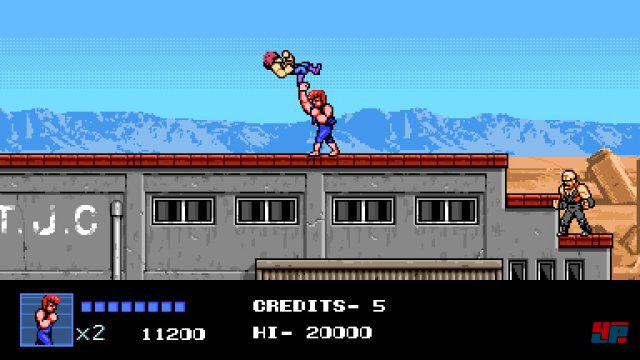 Screenshot - Double Dragon 4 (PC) 92540707
