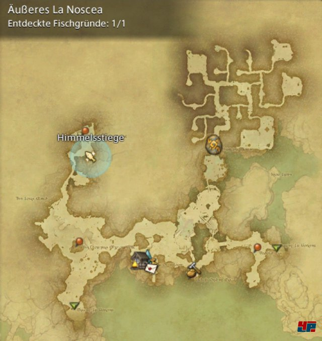 Final Fantasy XIV Online: A Realm Reborn - Fischgründe: La Noscea, Äußeres La Noscea