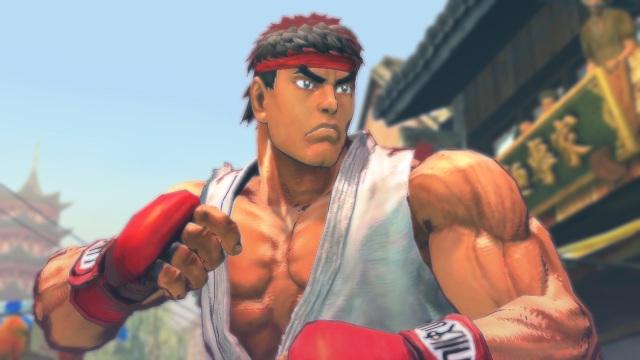 Street Fighter IV <br><br>  Street Fighter IV wäre vermutlich ein Prügelspiel wie jedes andere aus der ruhmreichen Serie, wenn da nicht der ungewöhnliche Grafikstil wäre: Obwohl die Kämpfe weiterhin in 2D ablaufen, bilden sowohl die Hintergründe als auch die Kämpfer 3D-Objekte, wobei sich der Stil an der Kalligrafie orientiert und genau wie Okami den Eindruck hinterlässt, als würde Tusche fließen.  2088238