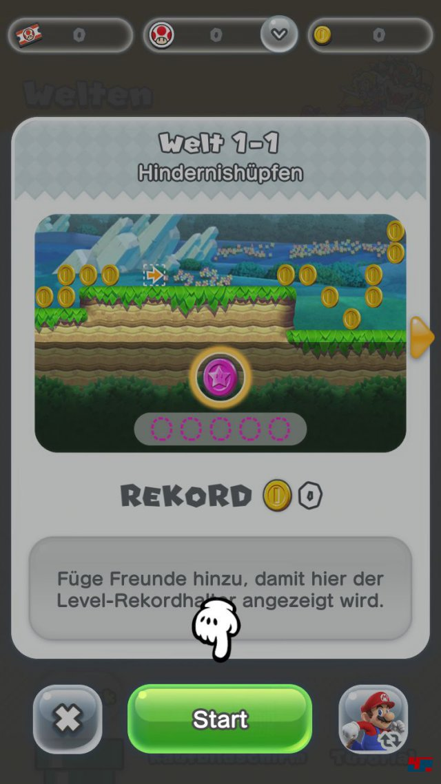 Screenshot - Super Mario Run (iPad) 92537676