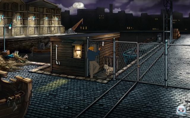 Screenshot - Baphomets Fluch 2: Die Spiegel der Finsternis - Remastered (Android)