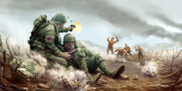 Medal of Honor: European Assault (2005) <br><br> Unter der Mithilfe von Drehbuchautor John Milius (