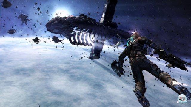 Die Weltraum-Abschnitte markieren den Höhepunkt von Dead Space 3.