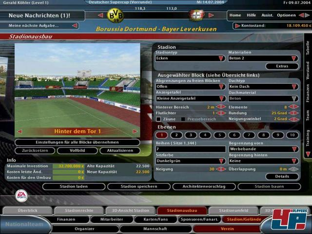 Fussball Manager 2005 Pc Test News Video Spieletipps
