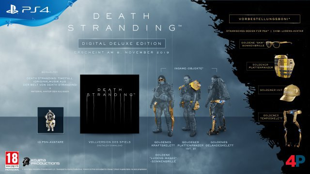 Digital Deluxe Edition von Death Stranding
