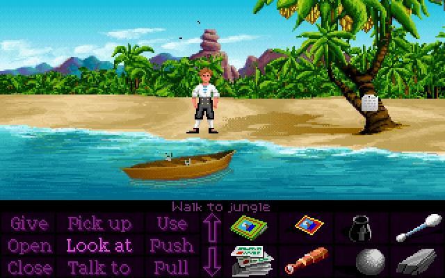 The Secret of Monkey Island  <br><br> Und noch mehr Inseln: Egal ob Melee Island, Phatt Island, Plunder Island oder die Affeninsel selbst - eigentlich könnte man sich auf jeder von ihnen ein beschauliches Piratenleben vorstellen. Was braucht man mehr als eine süße Gouverneurin, einen Bananenpflücker und dreiköpfige Affen samt traumhaften Karibik-Flair?     2076858