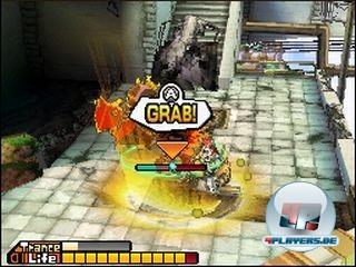 Das Kampfsystem basiert auf gezielten Griffen und Würfen.