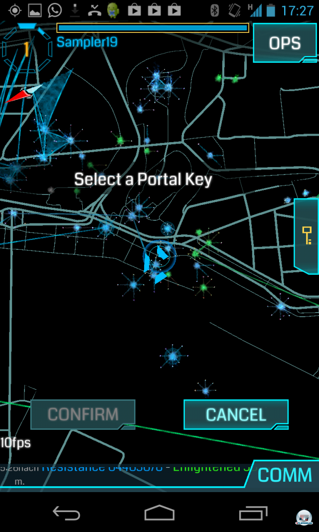 Screenshot - Ingress (Android)