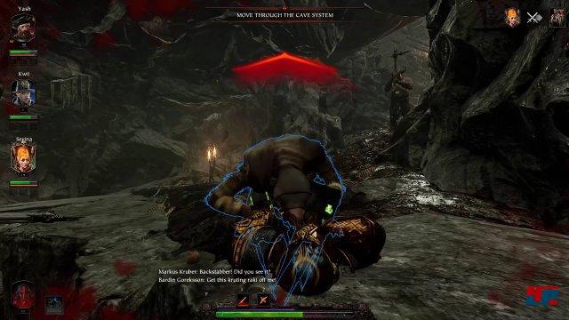 Eine Assassinen-Ratte schaltet den aktuellen Helden aus. Hilfe eines Mitspielers ist zwingend erforderlich.