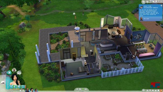 Auch gigantische Villen lassen sich mit dem Gebäude-Baukasten komfortabel erstellen oder modifizieren.
