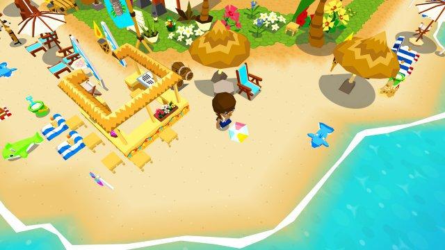 Screenshot - Castaway Paradise (Switch)