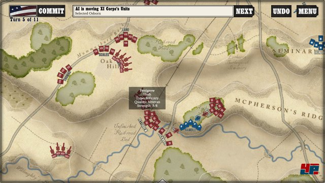 Screenshot - Gettysburg: The Tide Turns (PC) 92550295