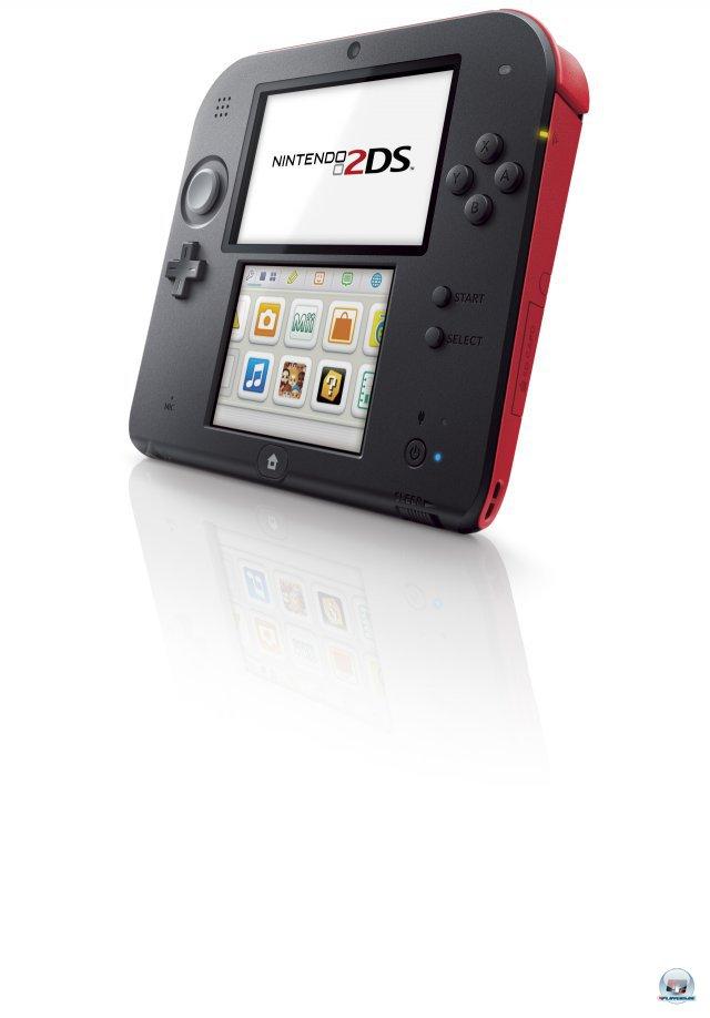 Der 2DS ist im Prinzip ein kastrierter 3DS.