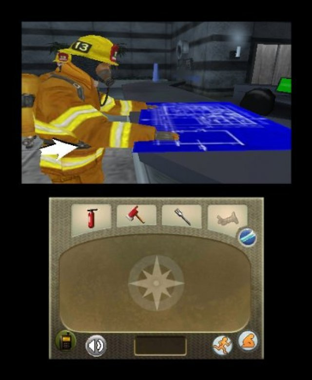 Screenshot - Real Heroes: Firefighter (3DS)