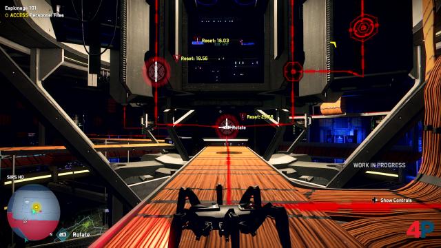 Hacken per Spider-Bot: Natürlich geht es in Legion häufig ums Knacken von Computern - die Wege dahin sind aber vielfältig.