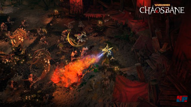 Warhammer Chaosbane fordert Diablo 3 zum Duell. In einigen Punkten ist man unterlegen. In anderen versucht man mit guten Ideen an der Blizzard