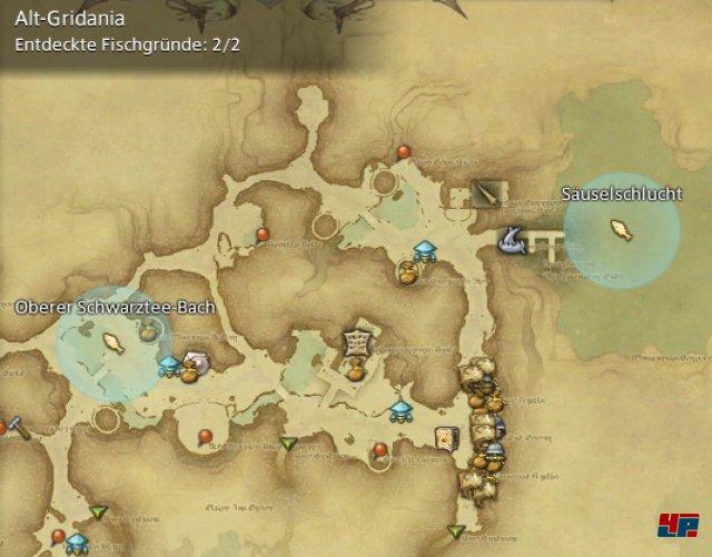 Final Fantasy XIV Online: A Realm Reborn - Fischgründe: Finsterwald, Alt-Gridania