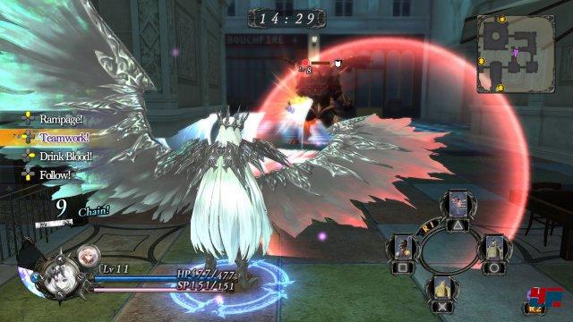 Screenshot - Nights of Azure (PlayStation3) 92521086