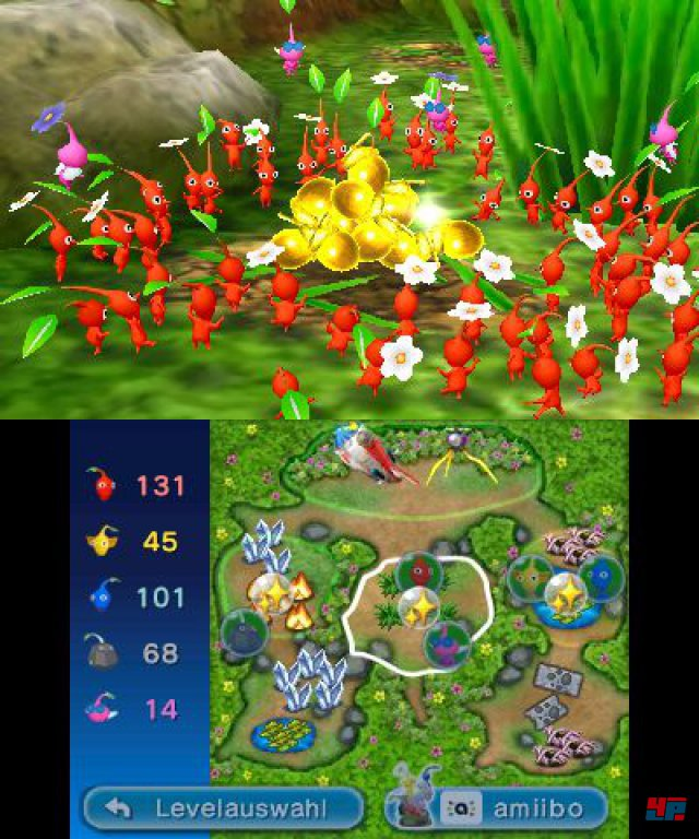 Screenshot - Hey! Pikmin (3DS) 92550150
