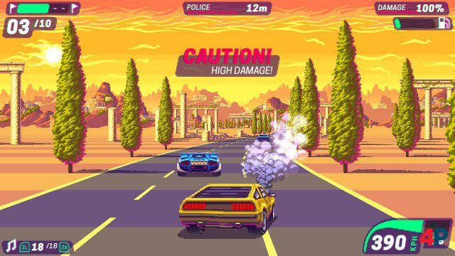 Screenshot - 80's Overdrive (Switch) 92612868