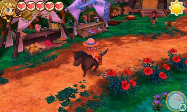 Screenshot - Story of Seasons: Trio of Towns (3DS) 92554165