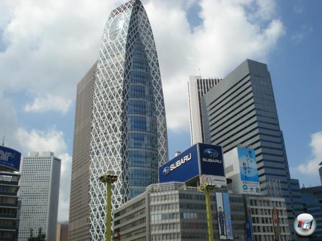 Er hatte aber auch allen Grund dazu. Denn unter all die vielen großen Häusern in Shinjuku kann man schon mal vergessen, welches davon eigentlich das eigene Hotel ist... 2150848