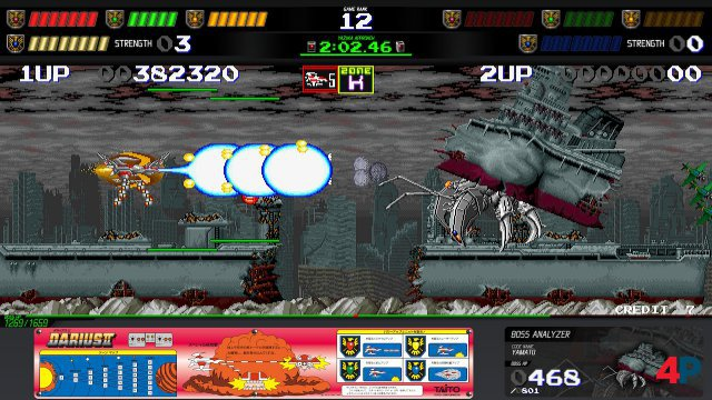 Screenshot - Darius Cozmic Collection Arcade   Console (Switch) 92617401