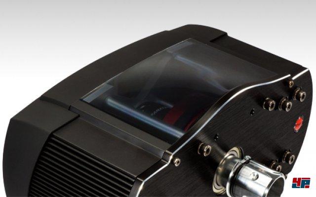 Die Basis dient als zentrales Element und zu Hause für den kräftigen Motor.